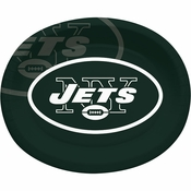 New York Jets Oval Platters