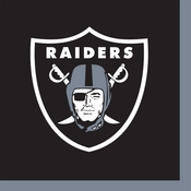 Oakland Raiders Beverage Napkins