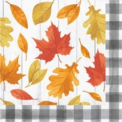 Falling Leaves Luncheon Napkins 192 ct