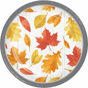 Falling Leaves Dessert Plates 96 ct