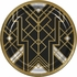 Roaring 20s Banquet Plates 96 ct