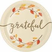 Thankful Dessert Plates 96 ct