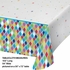 Bright Birthday Plastic Tablecloths 6 ct
