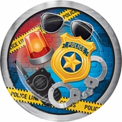Police Party Dinner Plates 96 ct