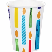 Bright Birthday Cups 96 ct