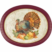 Traditional Turkey Oval Plates 96 ct