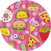 Food Love Dinner Plates 96 ct