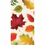 Colorful Leaves Guest Towels 192 ct