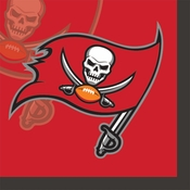 Tampa Bay Buccaneers Beverage Napkins
