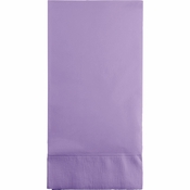 Touch of Color Luscious Lavender 3 Ply Guest Towels in quantities of 16 / pkg, 12 pkgs / case