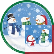 Smiling Snowmen Party Supplies