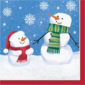 Smiling Snowmen Luncheon Napkins 192 ct