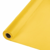 School Bus Yellow Banquet Roll 1 ct