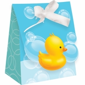 Bubble Bath Diecut Favor Bags with Ribbon 72 ct