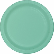 Fresh Mint Green Dinner Plates 96 ct
