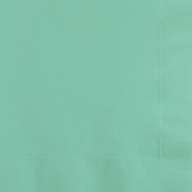 Fresh Mint Green Beverage Napkins 3 ply 500 ct