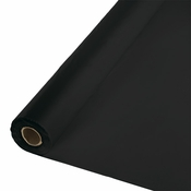 Touch of Color Black Velvet Banquet Table Roll in quantities of 1 / pkg, 1 pkg / case