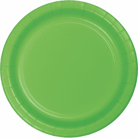 Fresh Lime Green Dessert Plates 96 ct