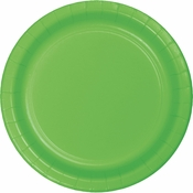 Fresh Lime Green Dinner Plates 96 ct