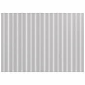 Gray Ticking Stripe Paper Placemats 288 ct