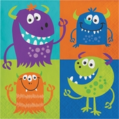 Fun Monsters Luncheon Napkins 192 ct