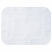 "White Medium Weight 15"" x 20"" Traymat sold in quantities of 1000 per case"