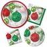 Ornaments Dinner Plates 96 ct