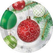 Ornaments Dessert Plates 96 ct