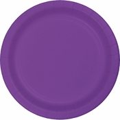 Amethyst Purple Dinner Plates 240 ct