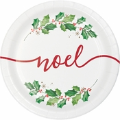 Seasons Greetings Dessert Plates 96 ct