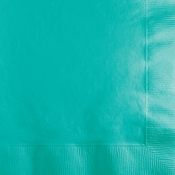Teal Lagoon Beverage Napkins 600 ct