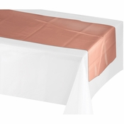 Rose All Day Plastic Table Runners 12 ct