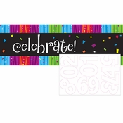 Milestone Celebrations Giant Party Banners 6 ct