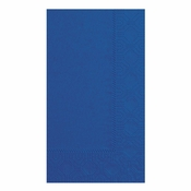 Navy Blue Hoffmaster Dinner Napkins in quantities of 125 / pkg, 8 pkgs / case