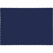 Touch of Color Navy Paper Placemats in quantities of 50 / pkg, 12 pkgs / case