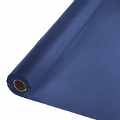 Touch of Color Navy Banquet Table Roll in quantities of 1 / pkg, 1 pkg / case