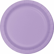 Touch of Color Luscious Lavender Dessert Plates in quantities of 24 / pkg, 10 pkgs / case