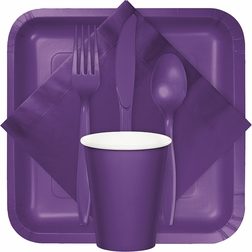 Amethyst Purple Tableware
