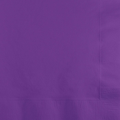 Amethyst Purple Beverage Napkins 3 ply 500 ct