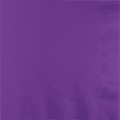 Amethyst Purple Luncheon Napkins 3 ply 500 ct
