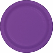 Amethyst Purple Dessert Plates 240 ct