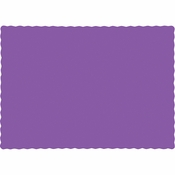 Amethyst Purple Paper Placemats 600 ct