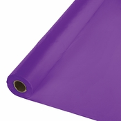 Amethyst Purple Plastic Banquet Table Roll 1 ct