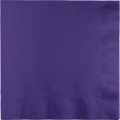 Purple Beverage Napkins 240 ct