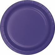 Purple Dessert Plates 96 ct