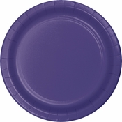 Touch of Color Purple Dessert Plates in quantities of 24 / pkg, 10 pkgs / case