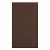 Chocolate Hoffmaster Dinner Napkins in quantities of 125 / pkg, 8 pkgs / case