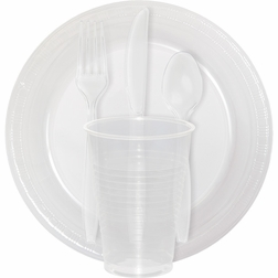 Shop our Clear tableware items to coordinate with a variety of ensembles and colors.