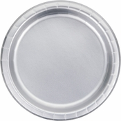 Silver Foil Dinner Plates 96 ct