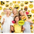 Show Your Emojions Photo Backdrops 6 ct